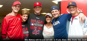 Mike Matheny Little League Interview