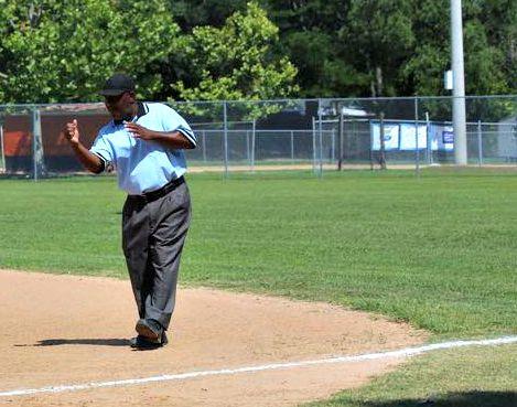 Umpire Larry Gill Jacksonville FL