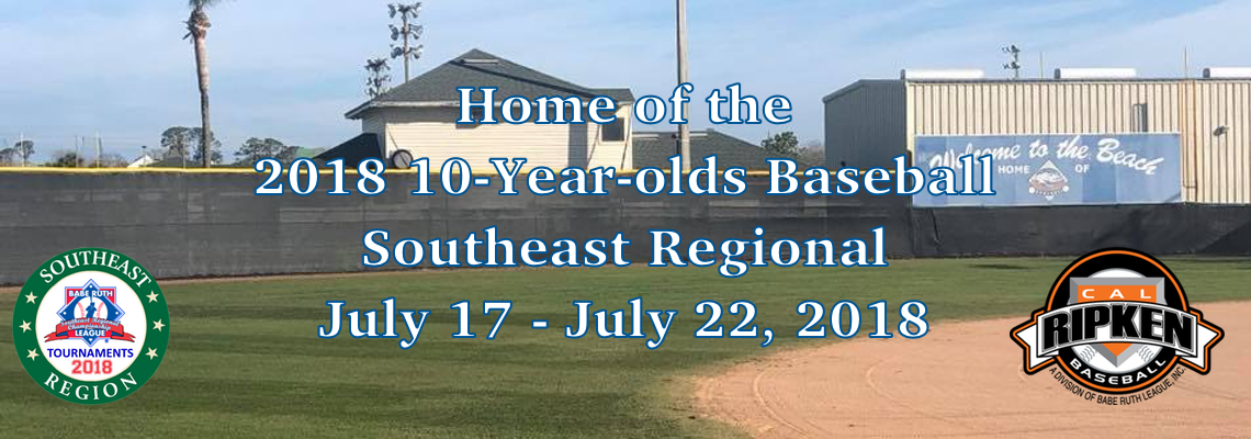 2018 10-Year-olds Baseball Southeast Regional